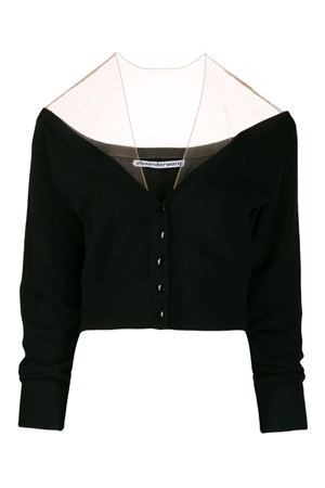 Short cardigan with veil ALEXANDER WANG | 39 | 1KC2191128001