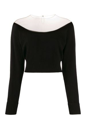 Low-neck sweater with veil ALEXANDER WANG | 7 | 1KC2193129001