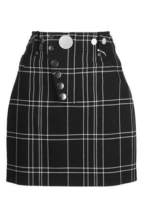 Minigonna motivo tartan ALEXANDER WANG | 15 | 1WC2195080941