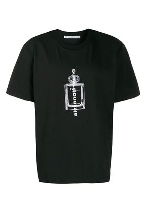 T-shirt con logo disegnato ALEXANDER WANG | 8 | 6CC2191037001