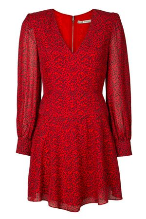 Polly leopard print dress ALICE & OLIVIA | 11 | CC909P34502J737