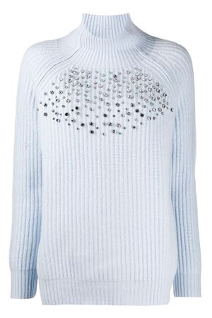 Sweater with crystals BeBlumarine | 1 | 8312116