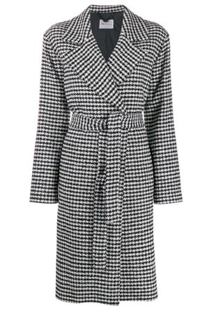 Coat in crossed Pied-de-Poule BeBlumarine | 17 | 8473250