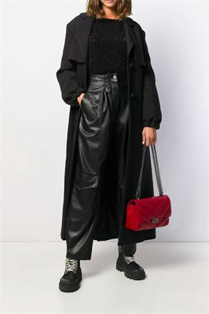 Long coat with belt BeBlumarine | 1834282807 | 8475140