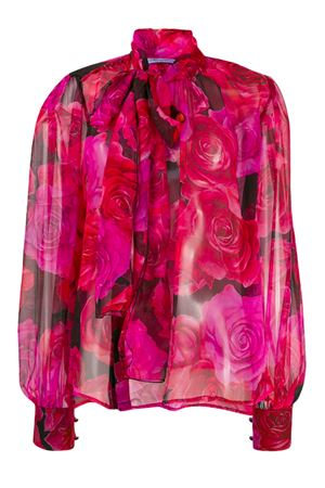Floral chiffon silk blouse Blumarine | 5032237 | 164002490