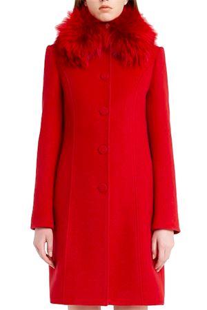 Coat with fox collar Blumarine | 17 | 16430368