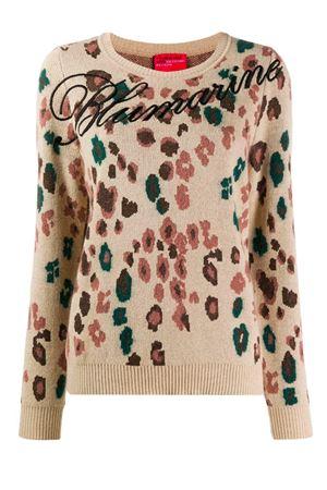 Floral shirt with logo Blumarine | 7 | 4007106