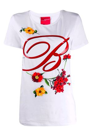 T-shirt with floral pattern Blumarine | 8 | 4104107