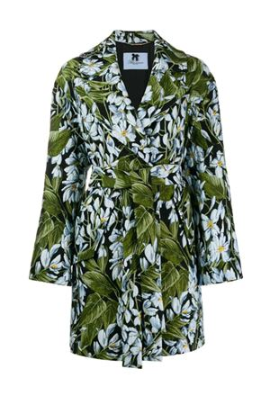 Floral coat with belt Blumarine | 17 | 43001910