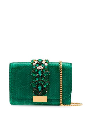 Pearly effect Cliky bag GEDEBE | 31 | CLICKY PYTHON EMERALD PEARLP03