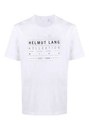 T-shirt with printed logo HELMUT LANG | 8 | J04HM513100