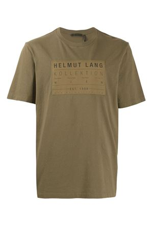 T-shirt with printed logo HELMUT LANG | 8 | J04HM513Y9P