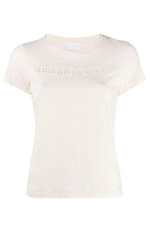 T-shirt con logo ricamato HELMUT LANG | 8 | J06DW502Q5P