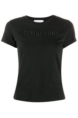 T-shirt con logo ricamato HELMUT LANG | 8 | J06DW502XNU