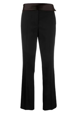 Tuxedo trousers with shiny band HELMUT LANG | 9 | J06HW208001