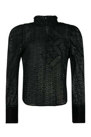 Qyandi blouse in ramie ISABEL MARANT | 5032237 | 19AHT1521-19A025I01BK