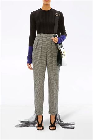 Checkered tailored trousers JW ANDERSON | 9 | TR07119EPG0024901