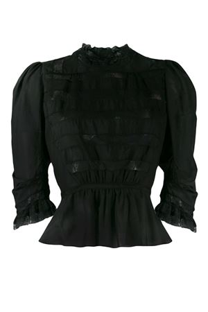 Blouse with lace MARC JACOBS | 5032237 | M4007911001