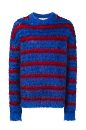Striped mohair sweater MARNI | 1 | GCMG0087Q0S16859STB60