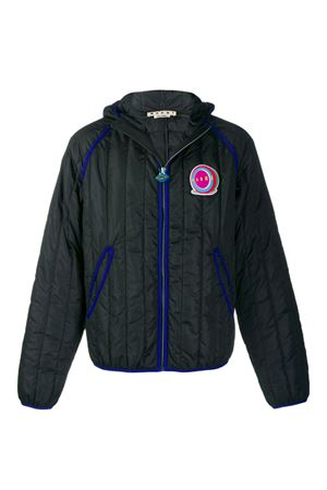 Padded jacket with logo MARNI | -276790253 | JUMU0044W0S5233900N99