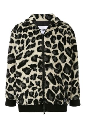 Animalier shearling jacket MSGM | 13 | 2740MH2419562602