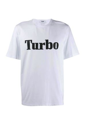 Turbo T-shirt MSGM | 8 | 2740MM10319579701