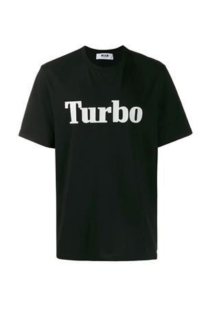 T-shirt with Turbo print MSGM | 8 | 2740MM10319579799