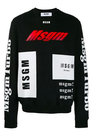 Sweatshirt with logo MSGM | -108764232 | 2740MM7119579999