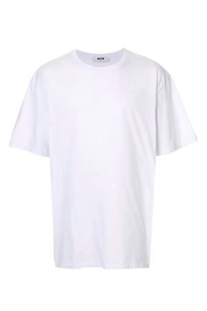 T-shirt with back logo MSGM | 8 | 2740MM7919579701