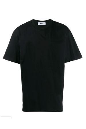 T-shirt con logo posteriore MSGM | 8 | 2740MM7919579799