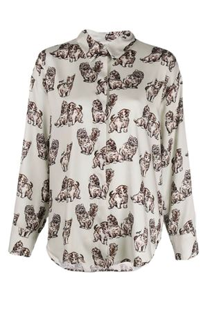 Cat patterned shirt MSGM | 6 | 2741MDE10B19565102
