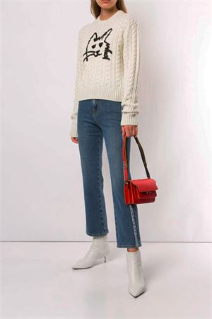 Sweater with design MSGM | 1 | 2741MDM13219577501