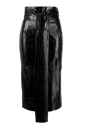 MIDI crocodile effect skirt MSGM | 15 | 2742MDD10419580299