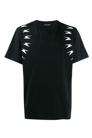 Meteorites Arm T-shirt NEIL BARRETT | 8 | PBJT554SM511S524