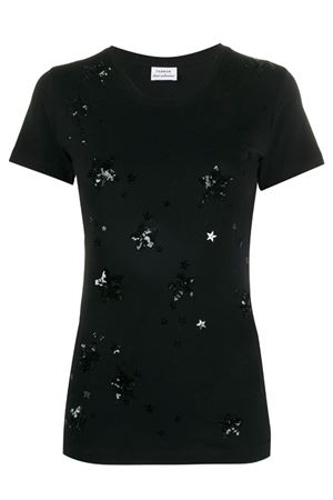 T-shirt with sequined stars P.A.R.O.S.H. | 8 | D110620CONUIT813