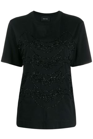 T-shirt with lamè embroidery SIMONE ROCHA | 8 | TS25460553
