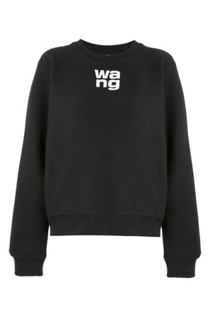 Wash + Go sweatshirt with logo T by ALEXANDER WANG | -108764232 | 4CC2191091001