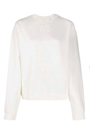 Sweatshirt with logo ALEXANDER WANG | -108764232 | 4CC1201157100