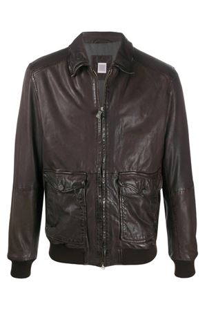 Leather jacket ELEVENTY | -276790253 | B75GBTB35PEL0B02122