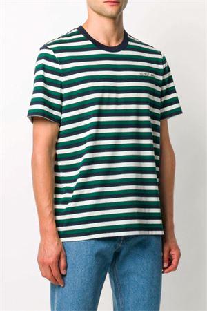 T-shirt stampa righe HELMUT LANG | 8 | K05HM503Z82