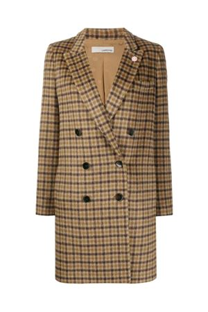 Checked coat LARDINI | 17 | DA7049SURFINI250Q