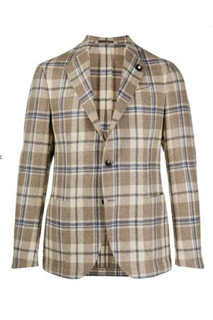 Checked jacket LARDINI | 3 | IM934AIMA55531150BL