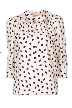 Polka dot blouse MARNI | 5032237 | CAMA0323A3TV757BUW10