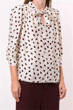 Polka dot blouse MARNI | 5032237 | CAMA0323A3TV757BUW10
