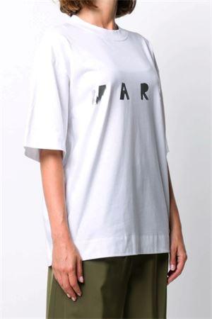T-shirt con logo MARNI | 8 | THJET49EPDSCQ87LON20