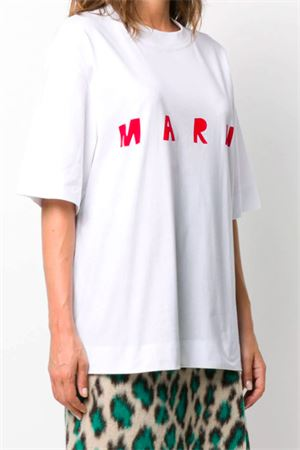 T-shirt with logo MARNI | 8 | THJET49EPDSCQ87LOW01