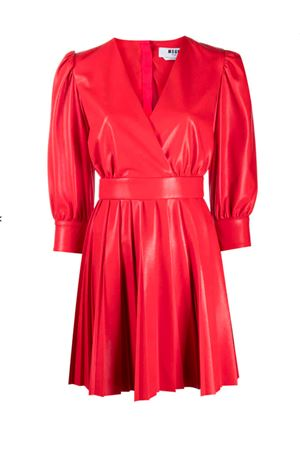 Faux leather dress MSGM | 11 | 2941MDA05P20765218