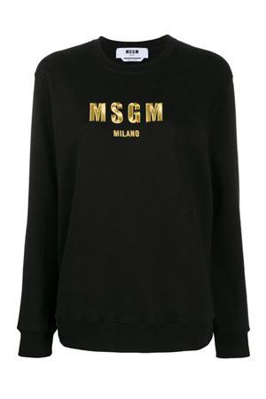 Felpa con logo MSGM | -108764232 | 2941MDM19420779999
