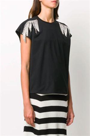 T-shirt con cristalli MSGM | 8 | 2943MDM6120764899