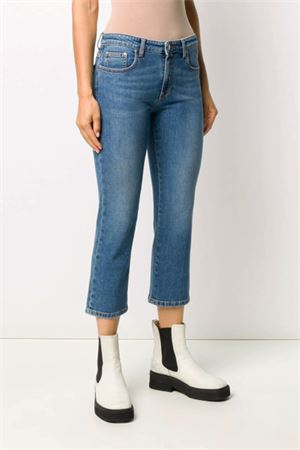 Jeans with crystal logo MSGM | 24 | 2943MDP48L20764085